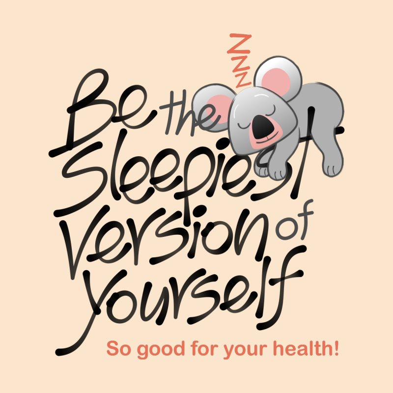 Be the sleepiest version of yourself koala Men's Zip-Up Hoody by Zoo&co's Artist Shop