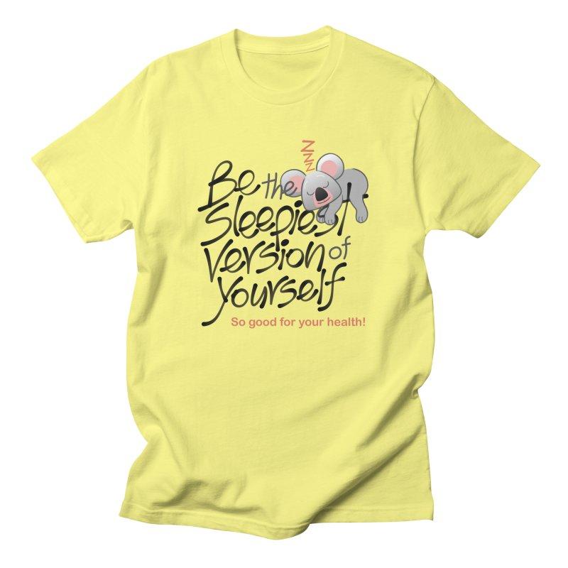 Be the sleepiest version of yourself koala Men's T-Shirt by Zoo&co's Artist Shop