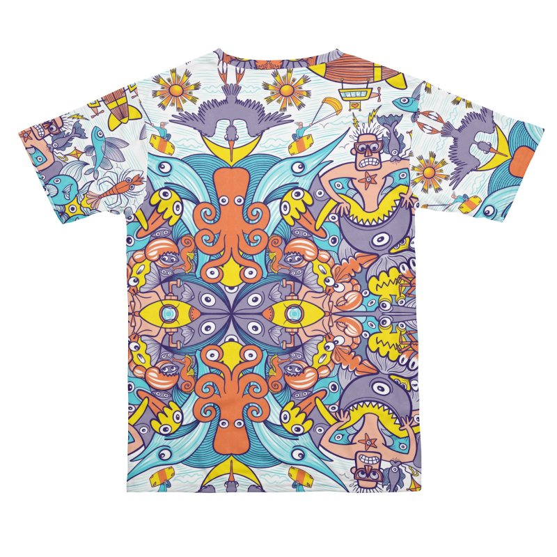 Are you ready for adventure this summer? Men's Cut & Sew by Zoo&co's Artist Shop