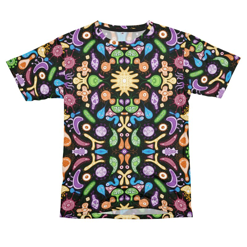 Fantastic tiny things living in a pattern design Men's Cut & Sew by Zoo&co's Artist Shop