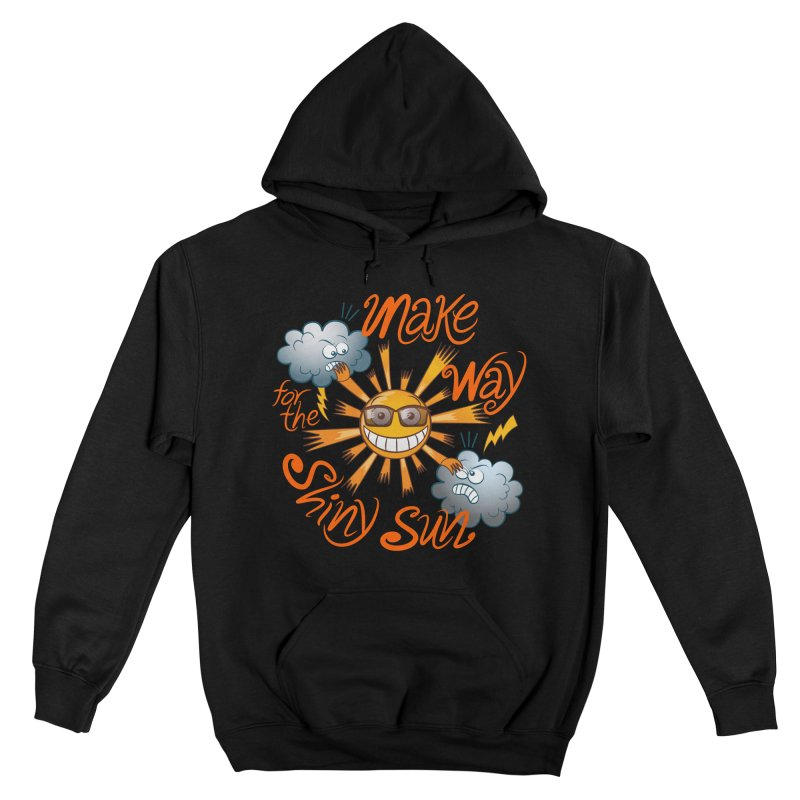Make way for the shiny sun, enjoy summer! Men's Pullover Hoody by Zoo&co's Artist Shop