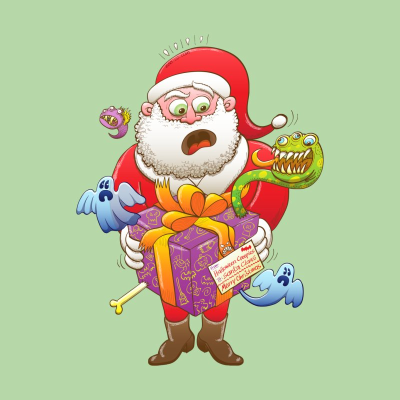 A Christmas gift from Halloween creepies to Santa by Zoo&co's Artist Shop