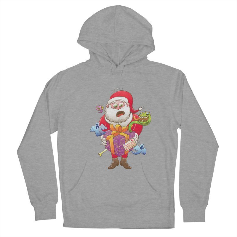 A Christmas gift from Halloween creepies to Santa Women's Pullover Hoody by Zoo&co's Artist Shop