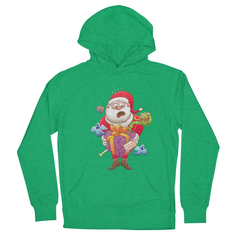 A Christmas gift from Halloween creepies to Santa Men's Pullover Hoody by Zoo&co's Artist Shop