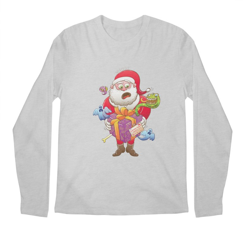 A Christmas gift from Halloween creepies to Santa Men's Longsleeve T-Shirt by Zoo&co's Artist Shop