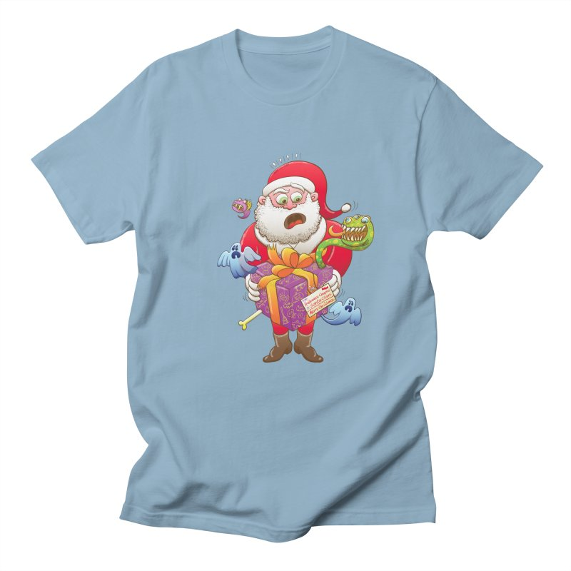 A Christmas gift from Halloween creepies to Santa Women's Unisex T-Shirt by Zoo&co's Artist Shop