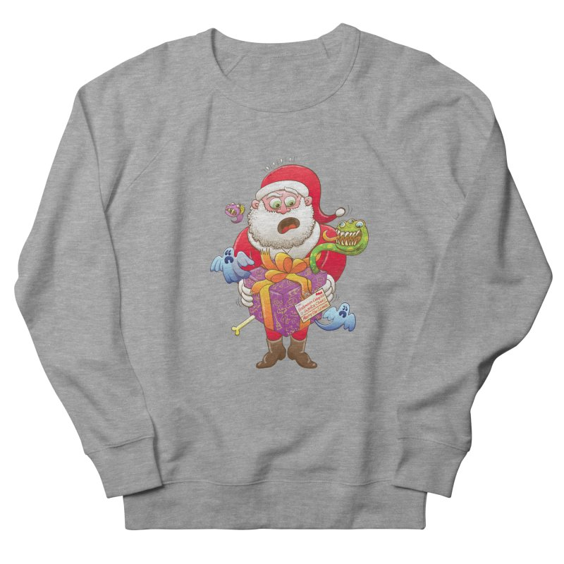 A Christmas gift from Halloween creepies to Santa Men's Sweatshirt by Zoo&co's Artist Shop