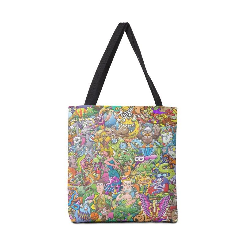 Crazy creatures festival Accessories Bag by Zoo&co's Artist Shop