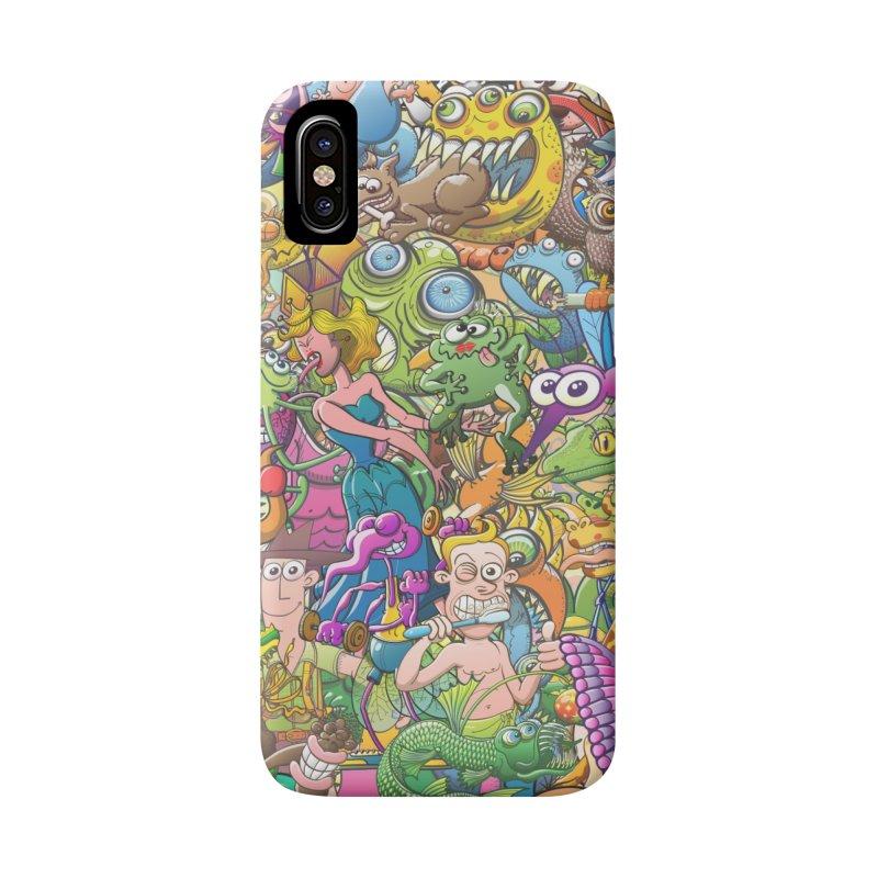 Crazy creatures festival Accessories Phone Case by Zoo&co's Artist Shop