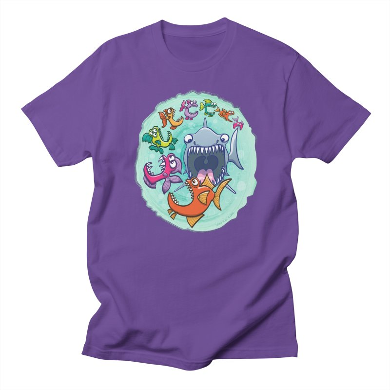 Big fish eat little fish and vice versa Men's T-Shirt by Zoo&co's Artist Shop