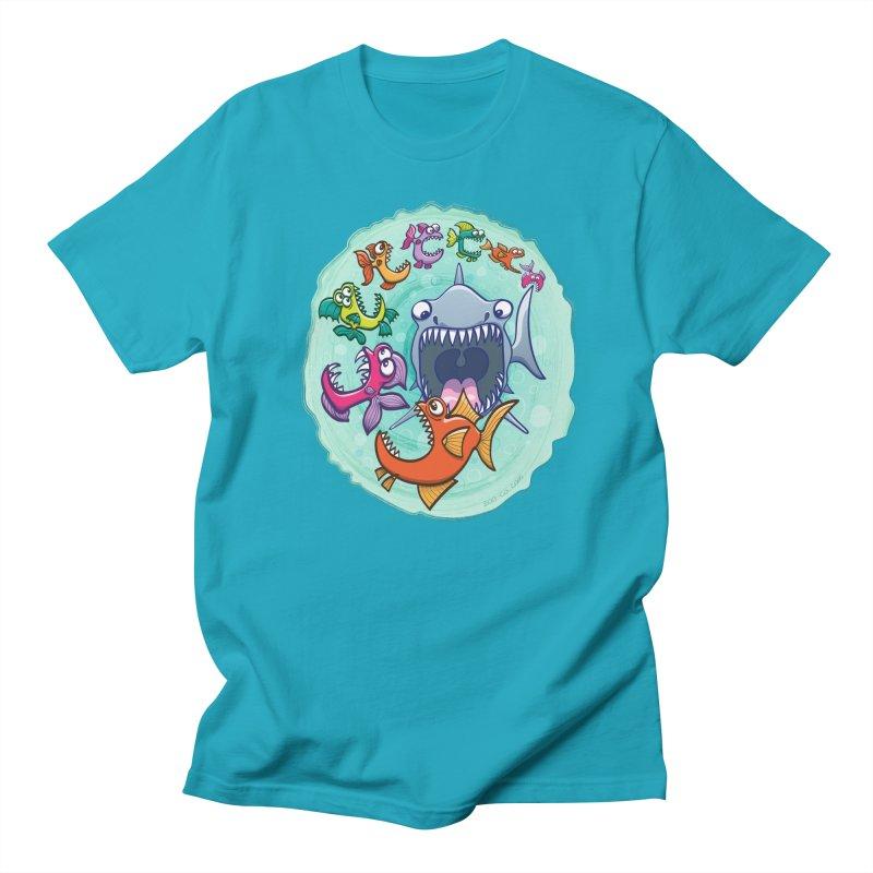 Big fish eat little fish and vice versa Women's Unisex T-Shirt by Zoo&co's Artist Shop