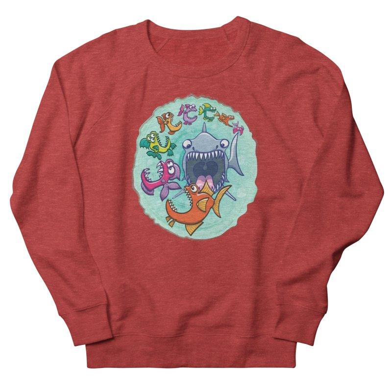 Big fish eat little fish and vice versa Men's Sweatshirt by Zoo&co's Artist Shop