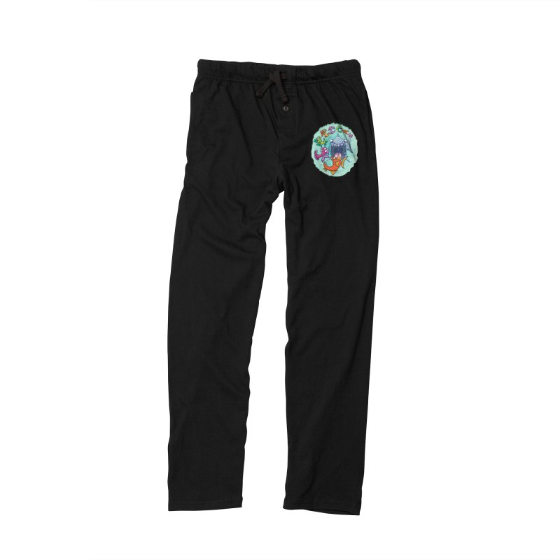 Big fish eat little fish and vice versa Men's Lounge Pants by Zoo&co's Artist Shop