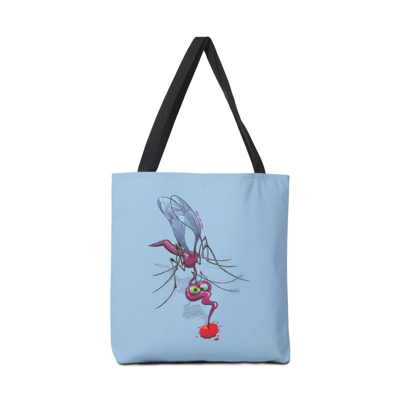 Terrific mosquito sucking blood Accessories Bag by Zoo&co's Artist Shop