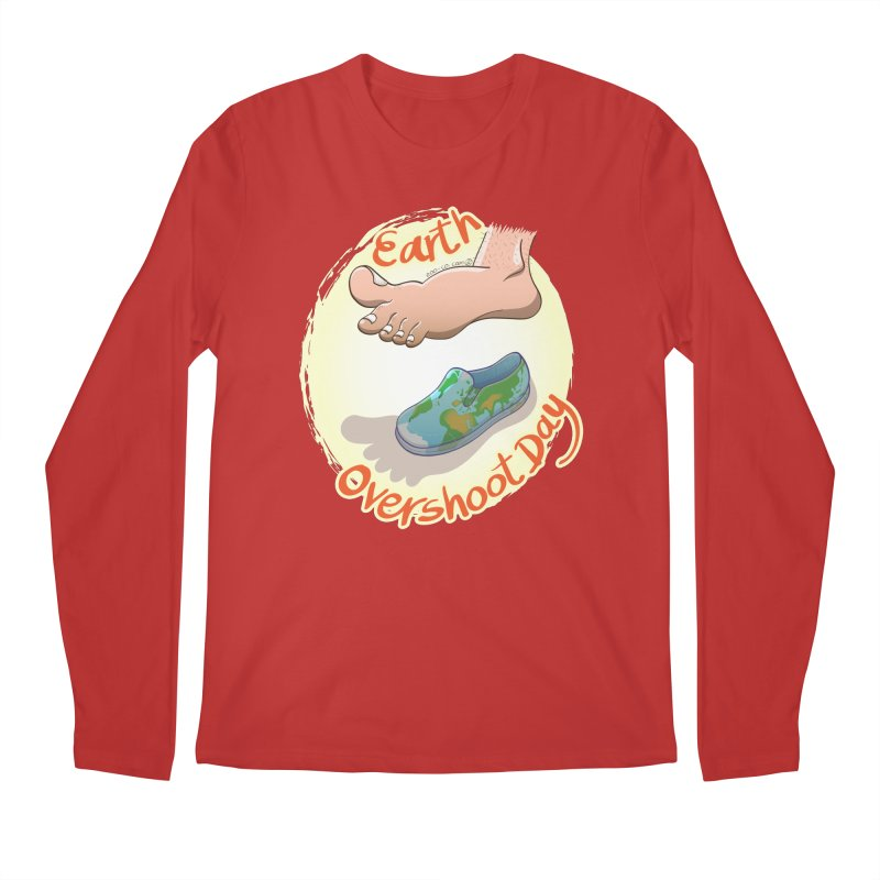 Earth overshoot day Men's Longsleeve T-Shirt by Zoo&co's Artist Shop