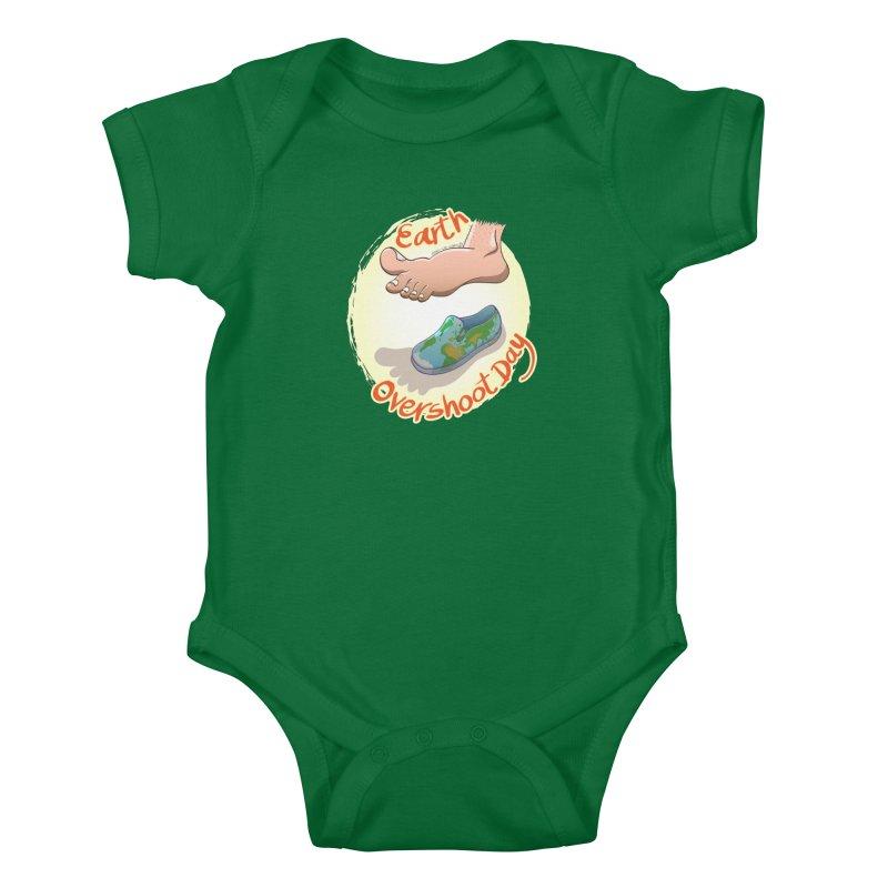 Earth overshoot day Kids Baby Bodysuit by Zoo&co's Artist Shop