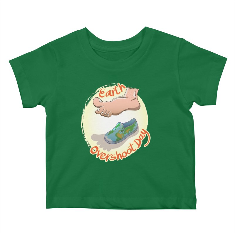 Earth overshoot day Kids Baby T-Shirt by Zoo&co's Artist Shop