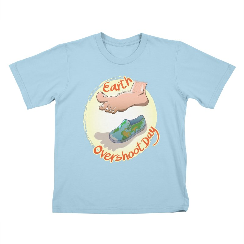 Earth overshoot day Kids T-Shirt by Zoo&co's Artist Shop