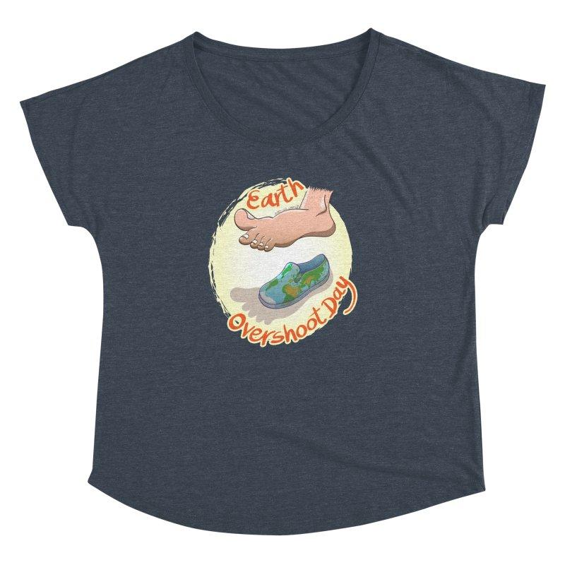 Earth overshoot day Women's Dolman by Zoo&co's Artist Shop