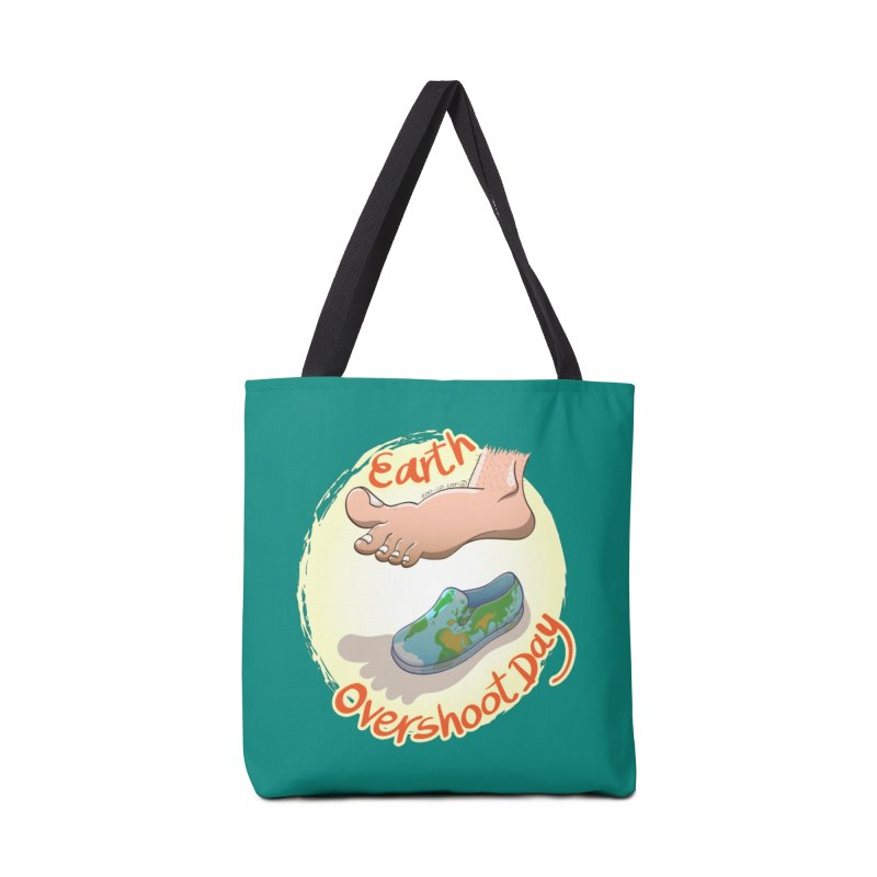Earth overshoot day Accessories Bag by Zoo&co's Artist Shop