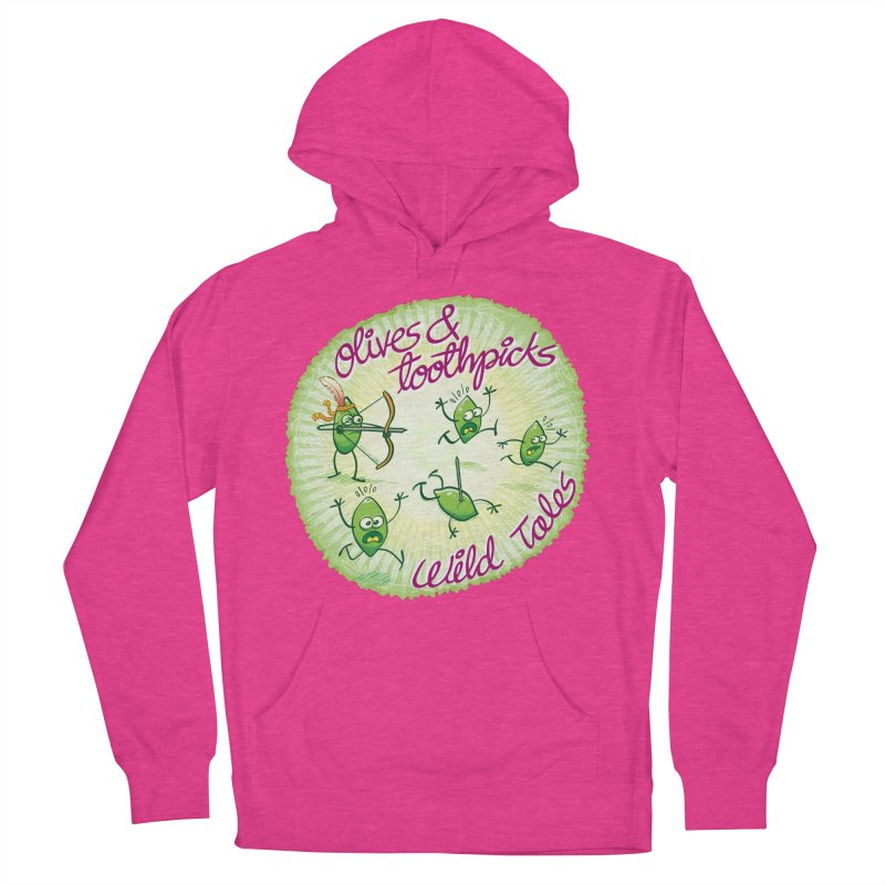 Olives and toothpicks wild tales Women's Pullover Hoody by Zoo&co's Artist Shop