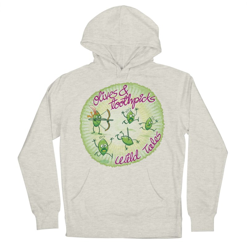 Olives and toothpicks wild tales Men's Pullover Hoody by Zoo&co's Artist Shop