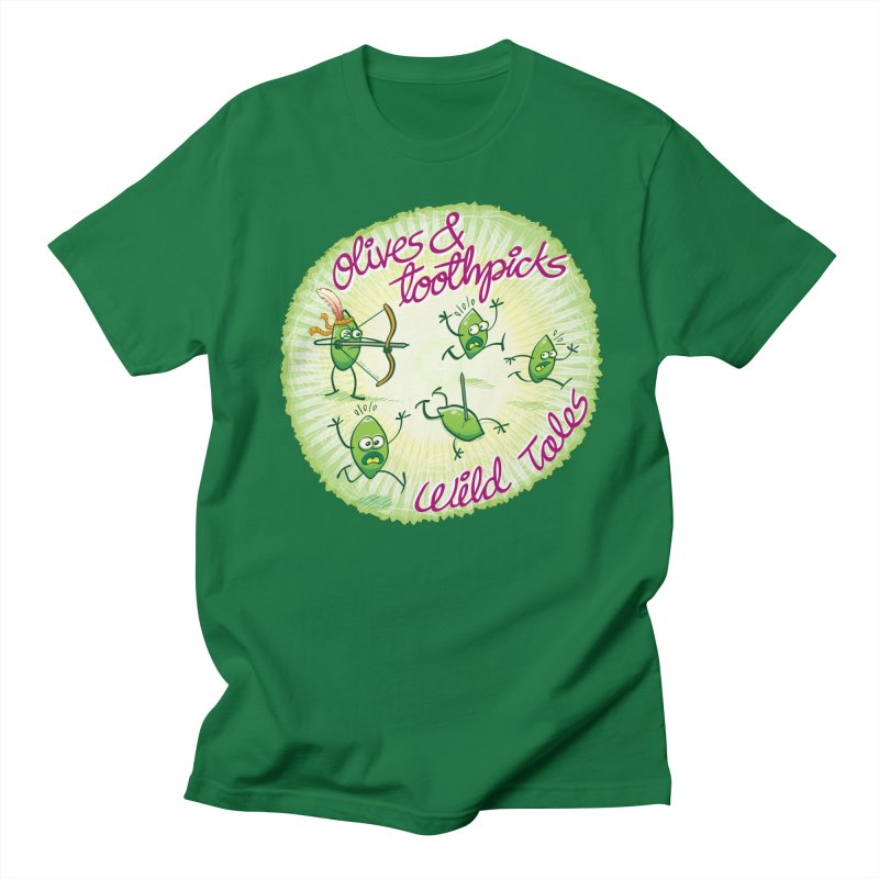 Olives and toothpicks wild tales Women's Unisex T-Shirt by Zoo&co's Artist Shop