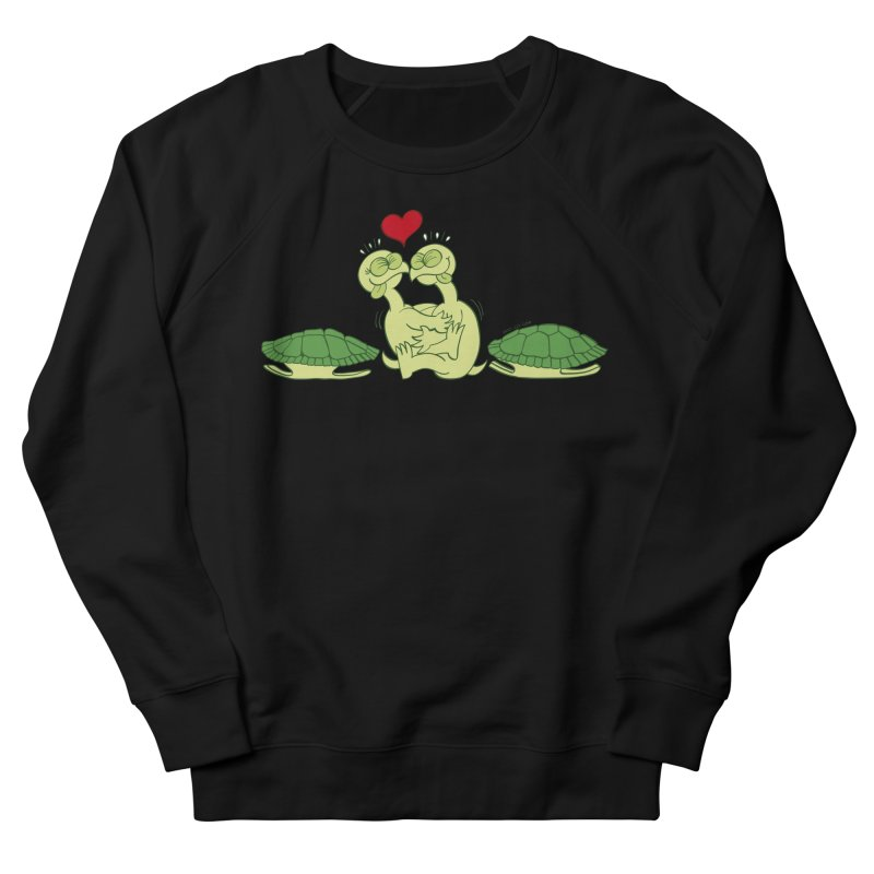 Funny naked turtles passionately making love Women's Sweatshirt by Zoo&co's Artist Shop