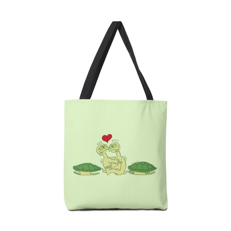 Funny naked turtles passionately making love Accessories Bag by Zoo&co's Artist Shop