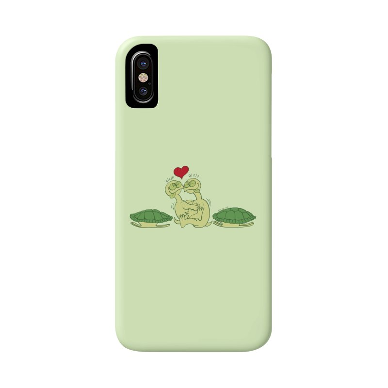 Funny naked turtles passionately making love Accessories Phone Case by Zoo&co's Artist Shop