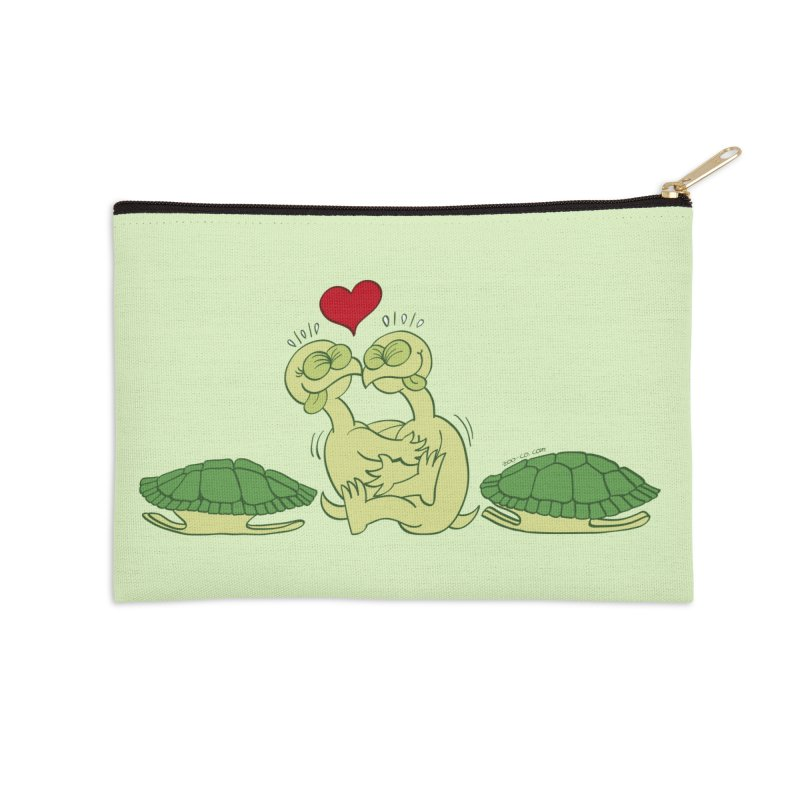Funny naked turtles passionately making love Accessories Zip Pouch by Zoo&co's Artist Shop
