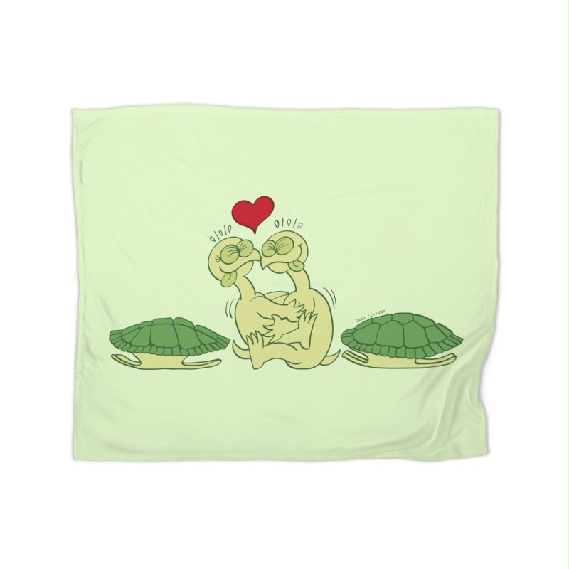 Funny naked turtles passionately making love Home Blanket by Zoo&co's Artist Shop