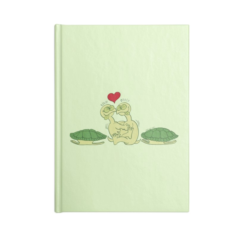 Funny naked turtles passionately making love Accessories Notebook by Zoo&co's Artist Shop