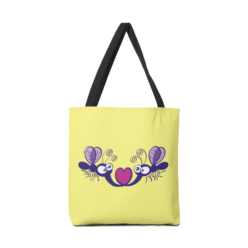 Funny mosquitoes irremediably falling in love Accessories Bag by Zoo&co's Artist Shop