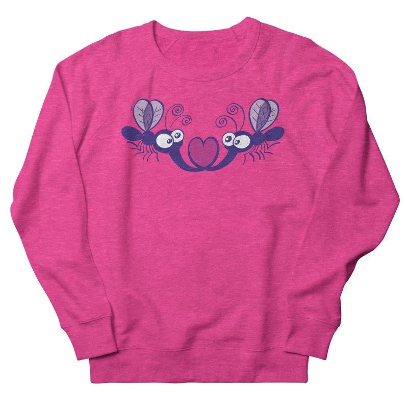 Funny mosquitoes irremediably falling in love Women's Sweatshirt by Zoo&co's Artist Shop