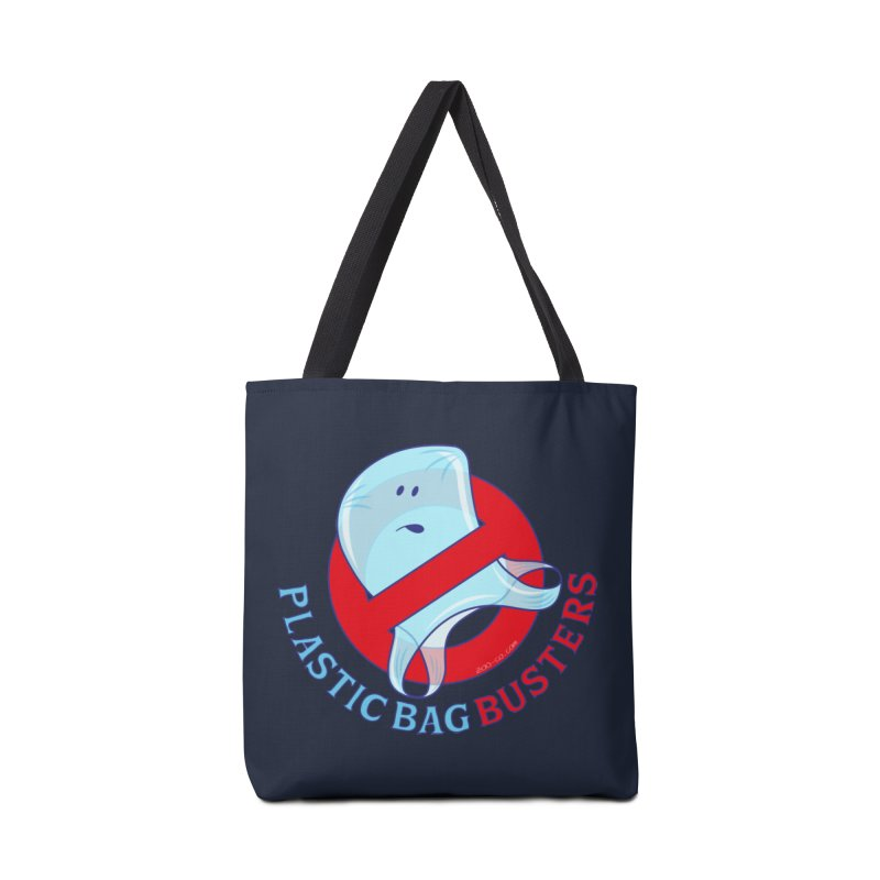 Plastic bag busters: Stop plastic pollution Accessories Bag by Zoo&co's Artist Shop