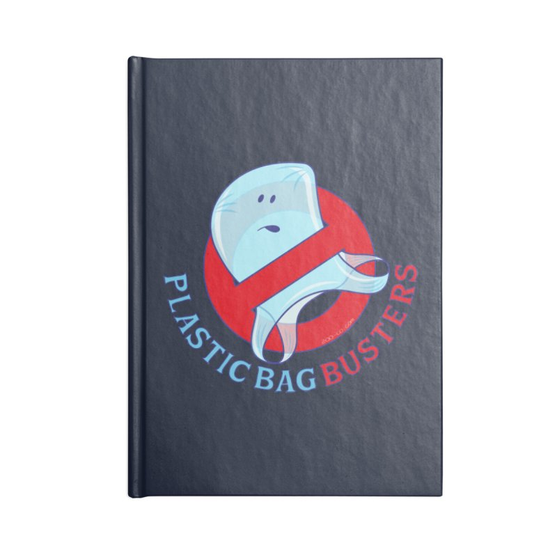 Plastic bag busters: Stop plastic pollution Accessories Notebook by Zoo&co's Artist Shop