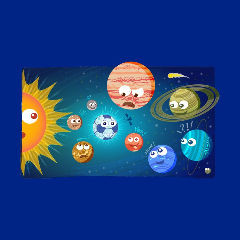 Soccer solar system by Zoo&co's Artist Shop