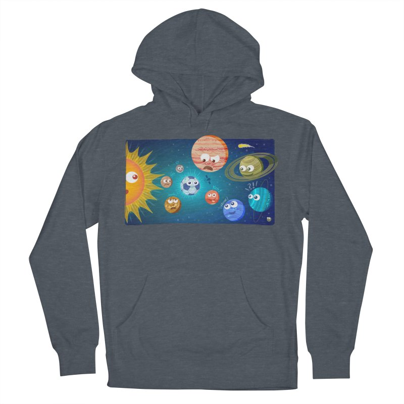 Soccer solar system Women's Pullover Hoody by Zoo&co's Artist Shop