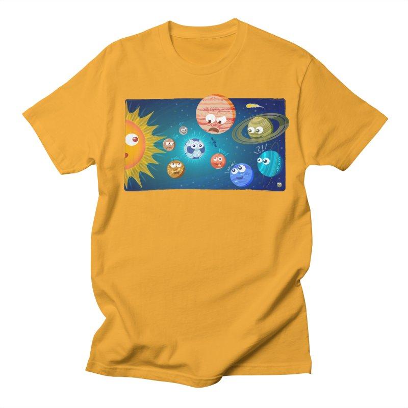 Soccer solar system Women's Unisex T-Shirt by Zoo&co's Artist Shop