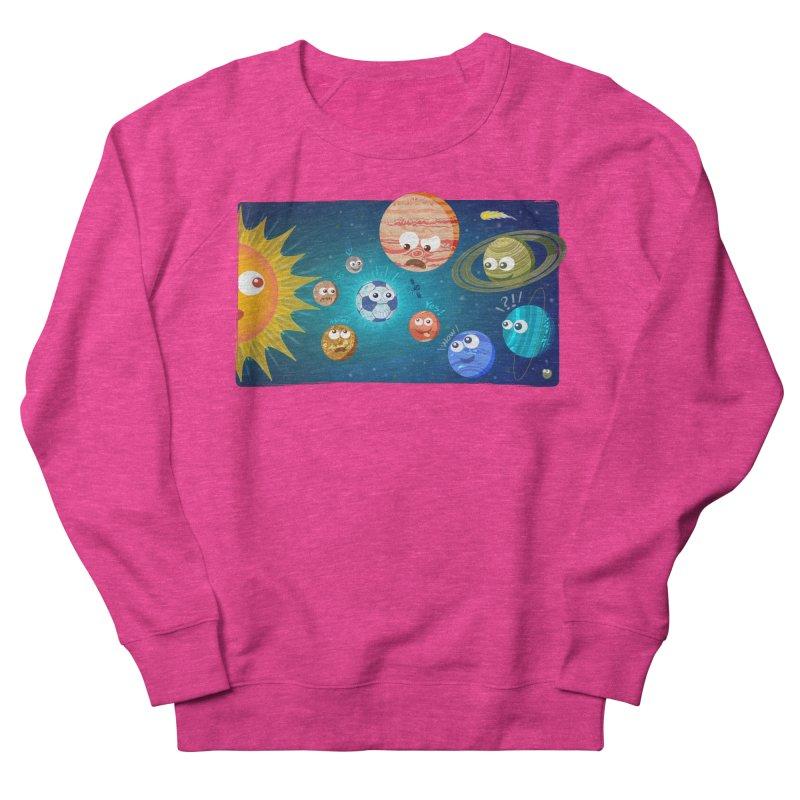 Soccer solar system Women's Sweatshirt by Zoo&co's Artist Shop