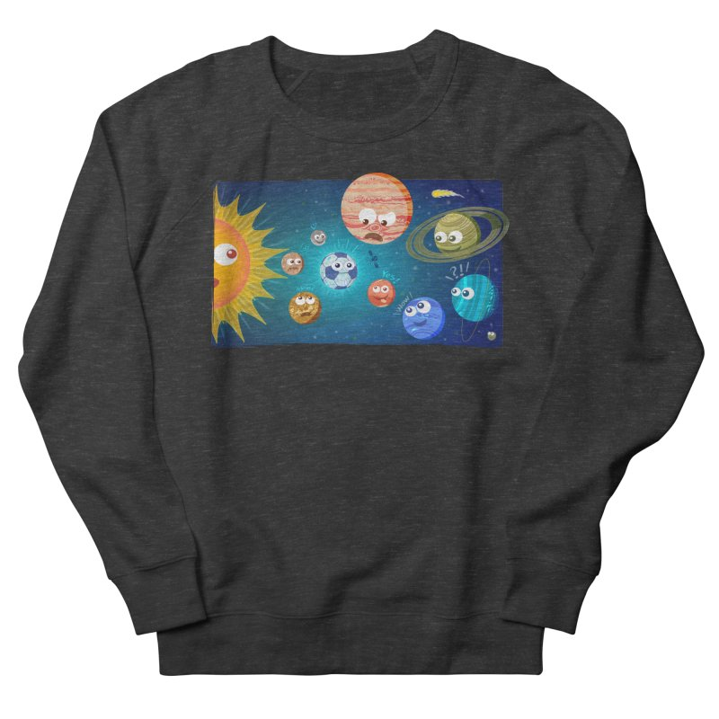 Soccer solar system Men's Sweatshirt by Zoo&co's Artist Shop