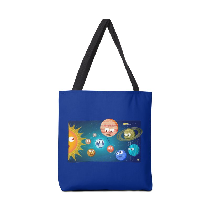 Soccer solar system Accessories Bag by Zoo&co's Artist Shop