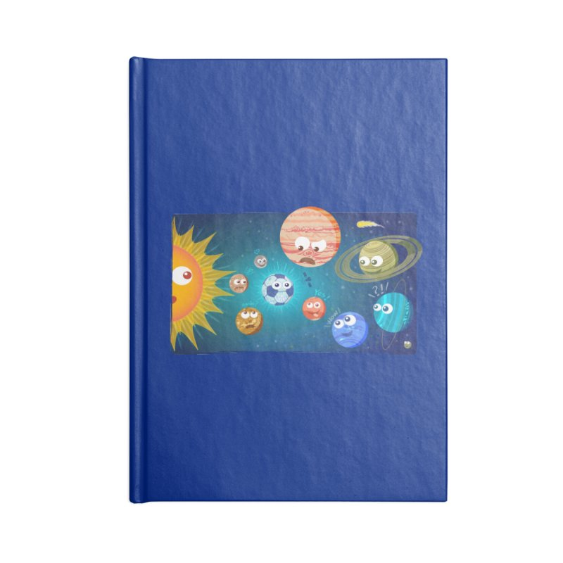 Soccer solar system Accessories Notebook by Zoo&co's Artist Shop