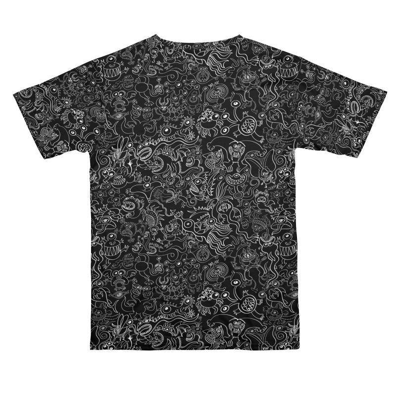 Crazy monsters pattern Men's Cut & Sew by Zoo&co's Artist Shop