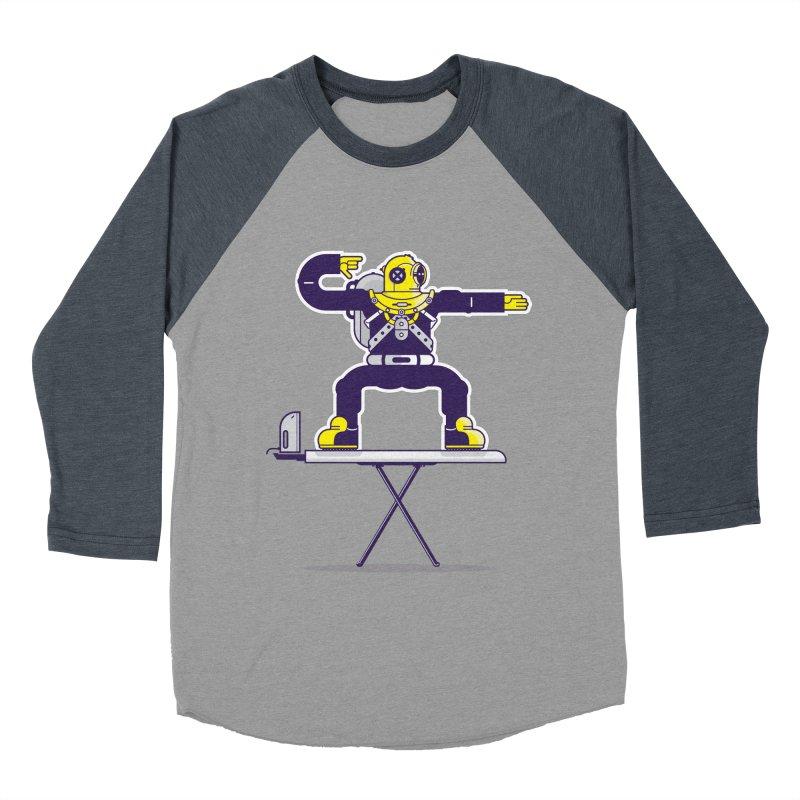 Ironboard Surfer Men's Baseball Triblend T-Shirt by Blxman77 Artist Shop