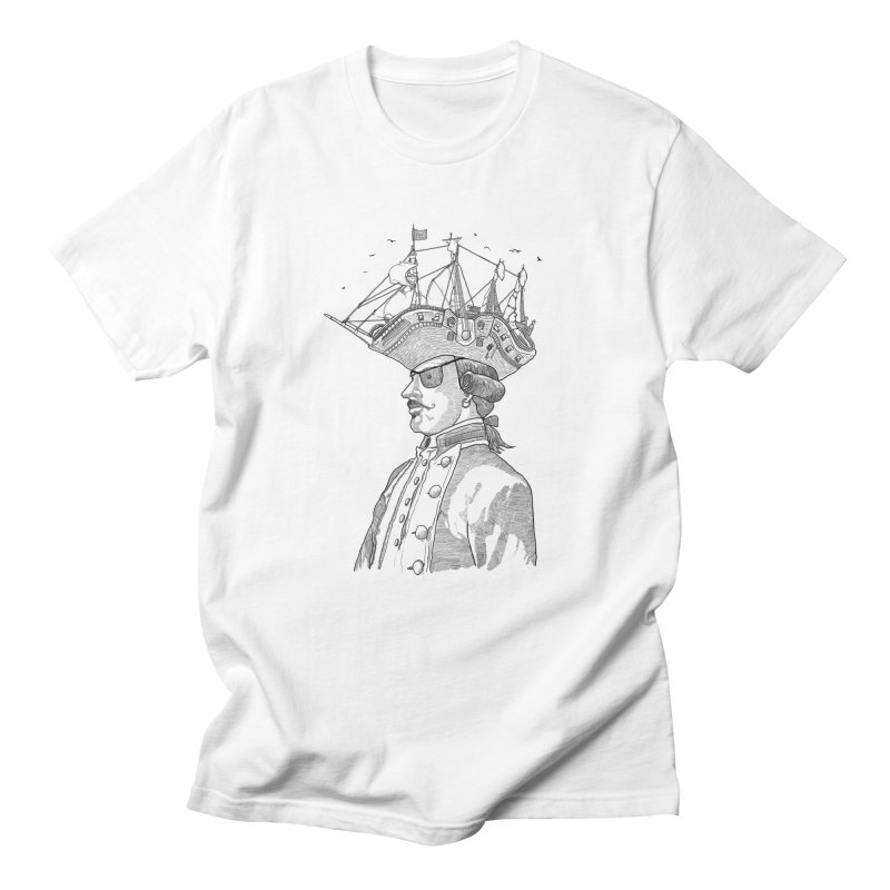 Pirate's Head Men's T-Shirt by Blxman77 Artist Shop