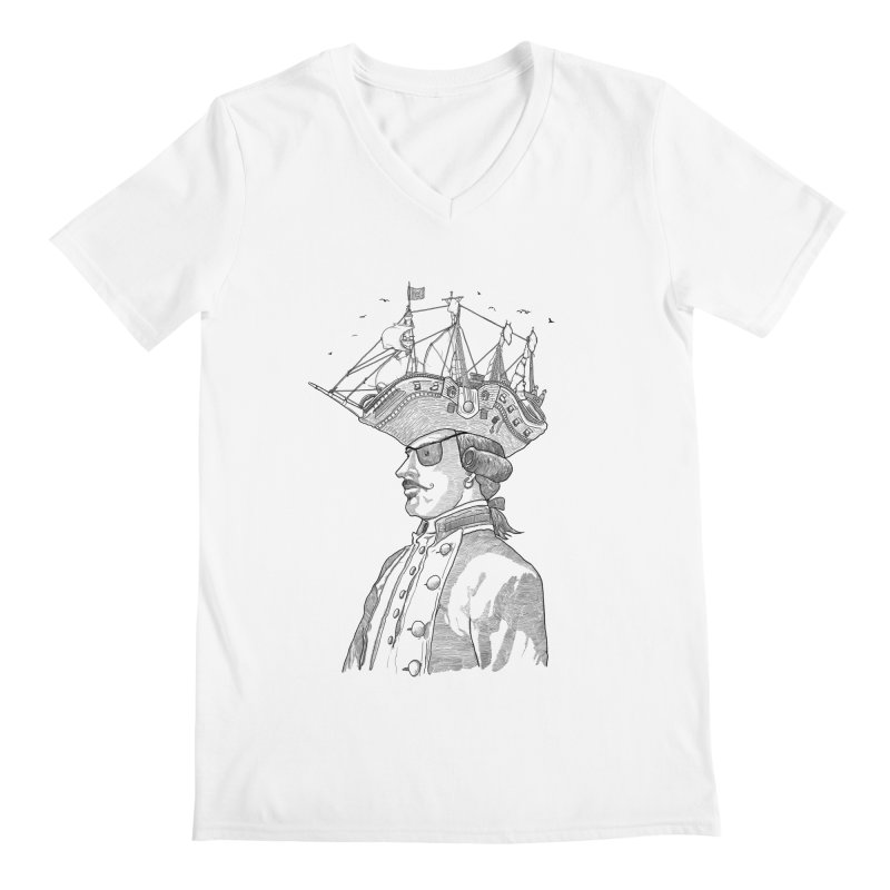Pirate's Head Men's V-Neck by Blxman77 Artist Shop