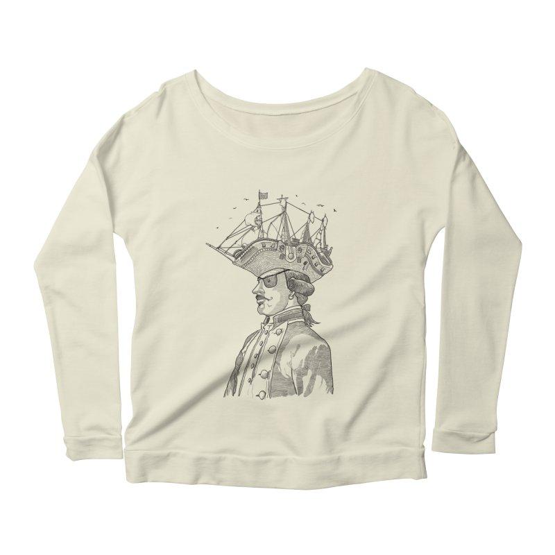 Pirate's Head Women's Longsleeve Scoopneck  by Blxman77 Artist Shop