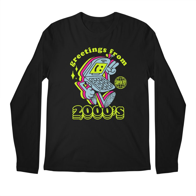 2000's Men's Regular Longsleeve T-Shirt by ZRO30